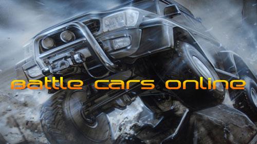 Battle cars online Screenshot