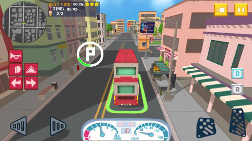 Bus simulator: City craft 2016 für Android
