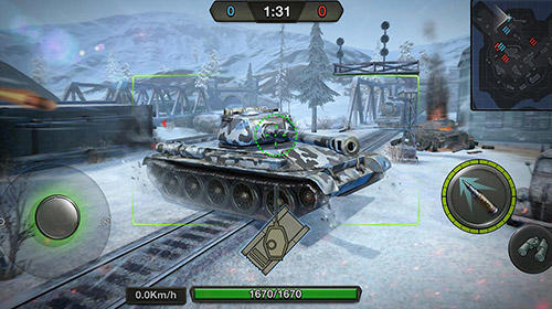 Tank combat: Team force para Android