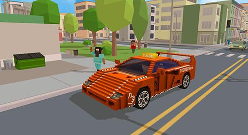 Fast city taxi race legend para Android