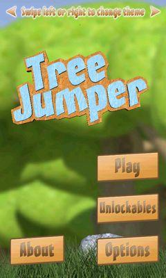 Tree Jumper captura de pantalla 1