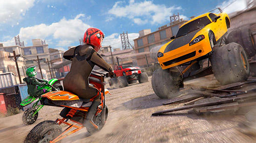 Free motor bike racing: Fast offroad driving game на русском языке