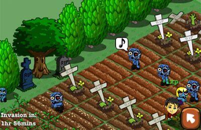 Screenshot Zombie Bauernhof auf dem iPhone