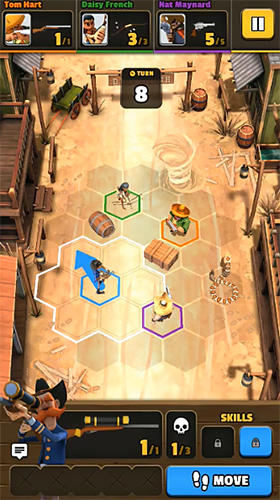 Pocket cowboys: Wild west standoff für Android