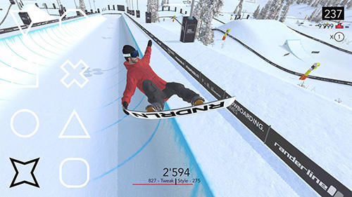 Just snowboarding: Freestyle snowboard action для Android