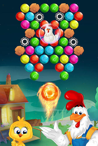 Farm bubbles: Bubble shooter puzzle game capture d'écran 1