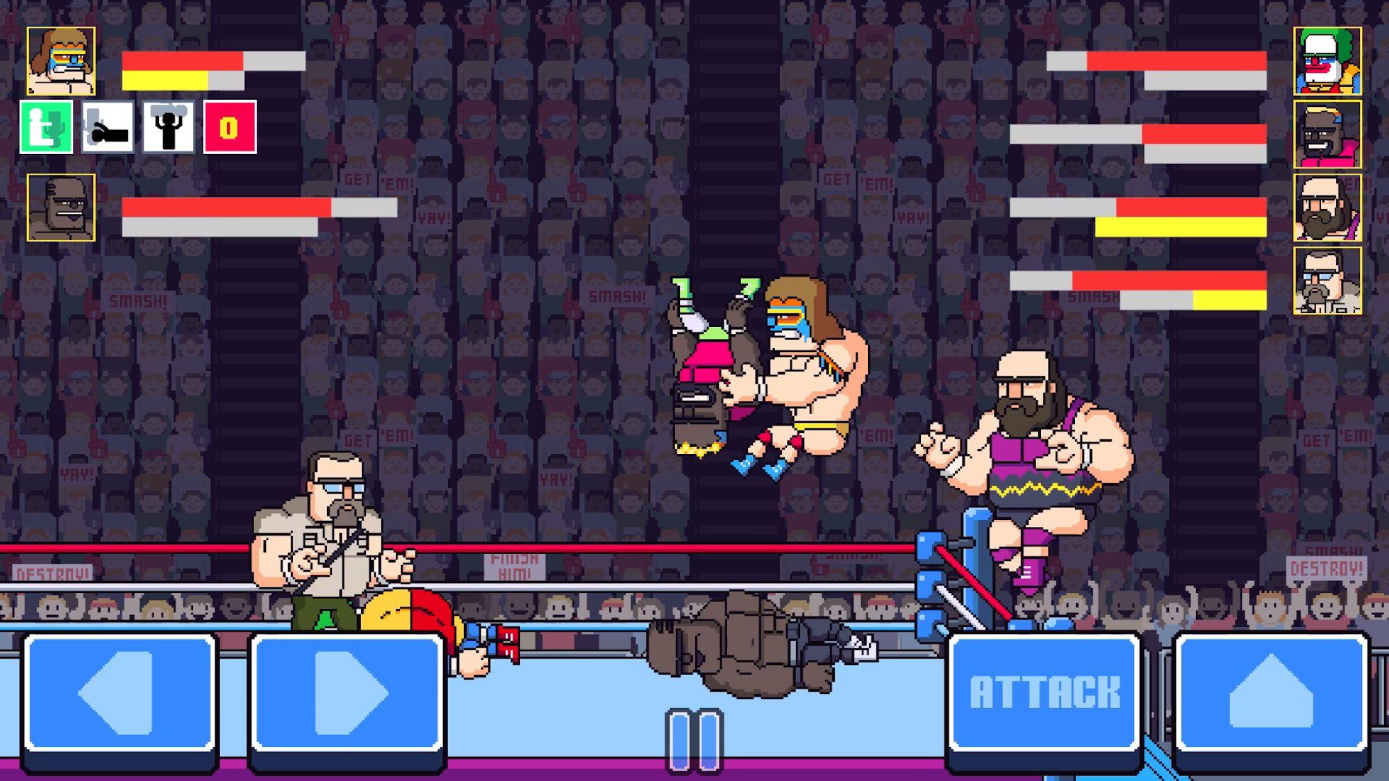 Rowdy City Wrestling для Android