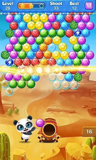 Für Kinder Bubble panda auf Deutsch