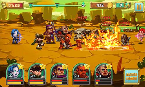 Strategie RPG Smashy Olympus auf Deutsch