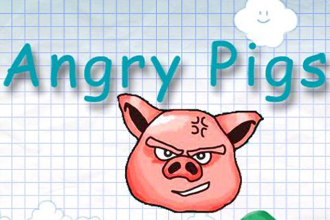логотип Злые свиньи