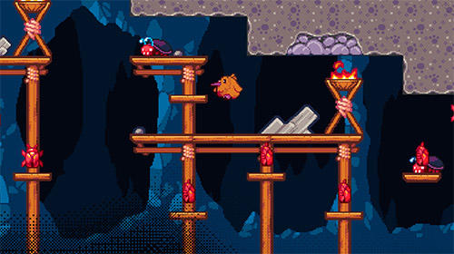 Arcade-Spiele Super kiwi adventure für das Smartphone