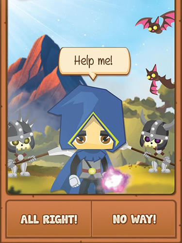 God of magic: Choose your own adventure gamebook für Android