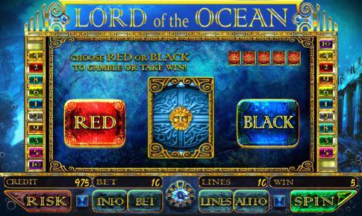 Lord of the ocean: Slot auf Deutsch