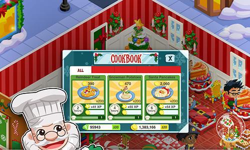 Arcade Restaurant story: Christmas für das Smartphone