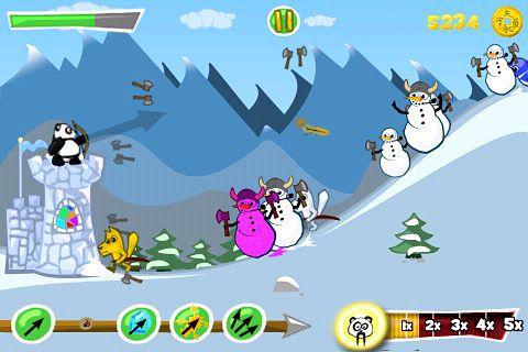 Screenshot Panda Mania auf dem iPhone