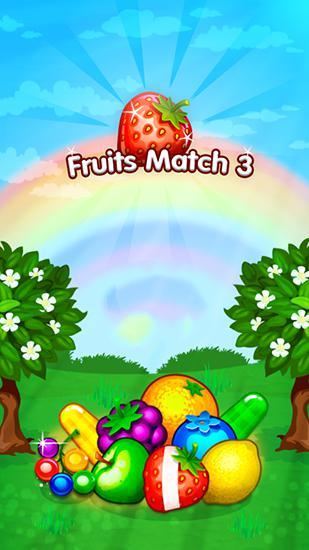 Fruits forest: Match 3 mania screenshot 1