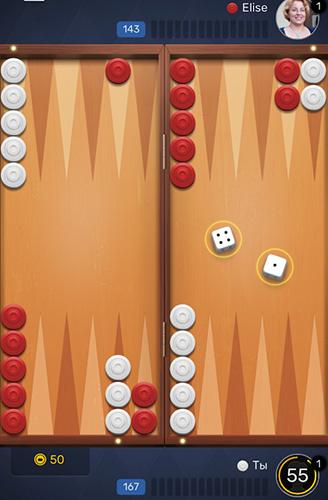 Backgammon-Spiele Backgammon Go: Best online dice and board games auf Deutsch