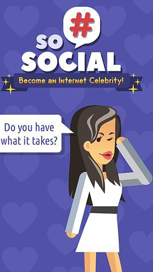 So social: Become an internet celebrity! Symbol