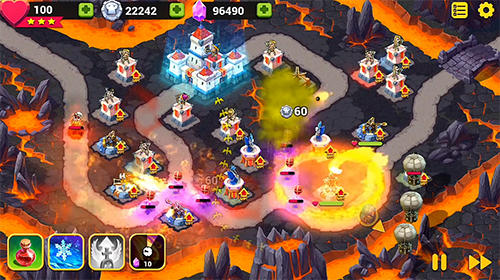 Strategy Toy defense fantasy for smartphone