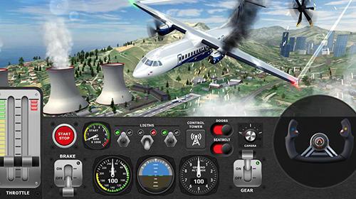 Android用 エアプレーン・フライト・パイロット・シミュレーター