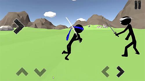 Stickman ninja warrior 3D für Android