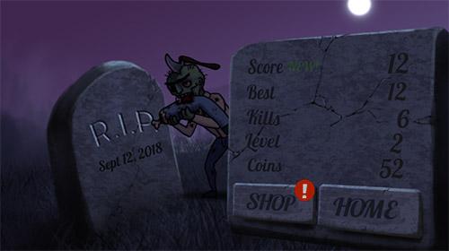 Actionspiele Police vs zombies für das Smartphone