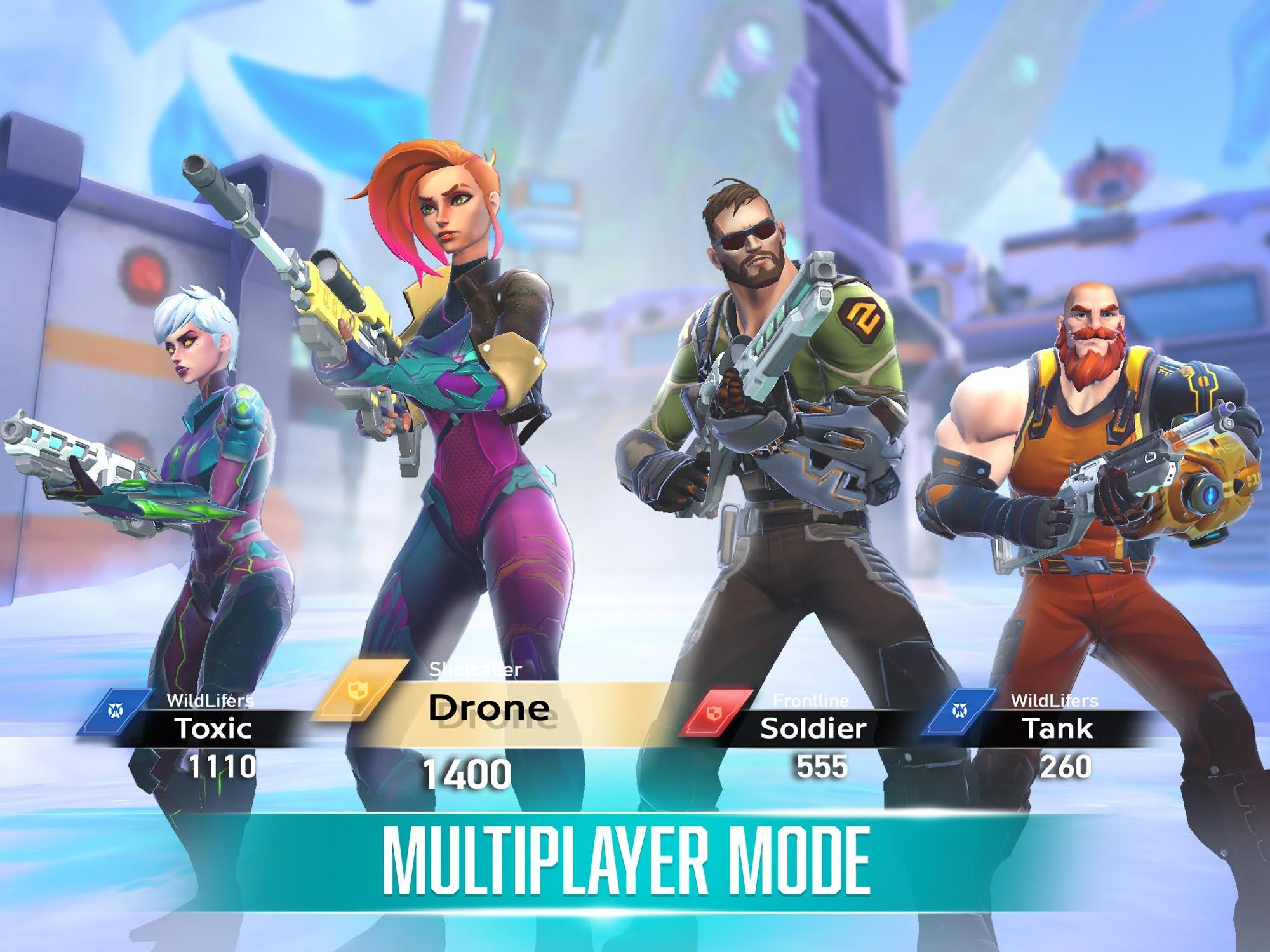 Rise: Shooter Arena screenshot 1
