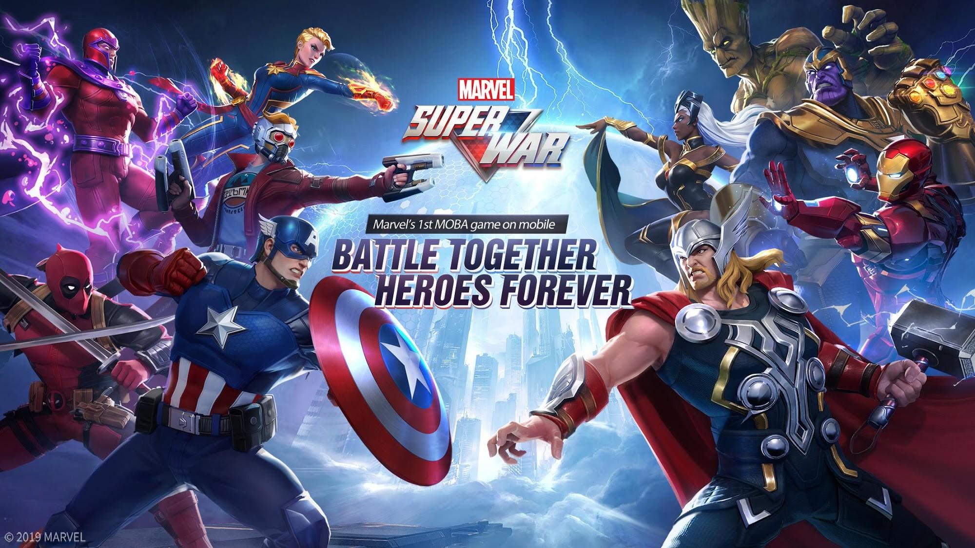 MARVEL Super War captura de pantalla 1