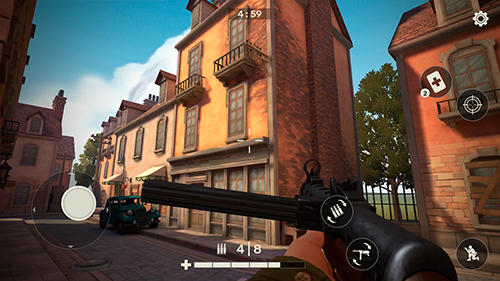 Frontline guard: WW2 online shooter для Android