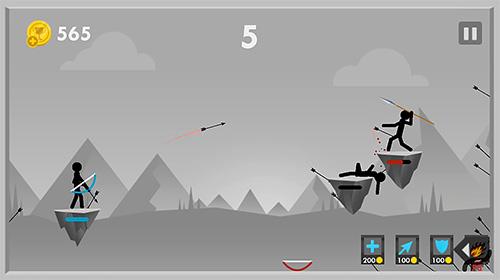 Stickman archer fight für Android