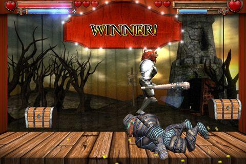 Screenshot Marionetten Kämpfer auf dem iPhone