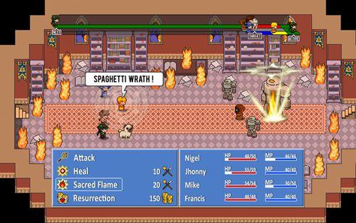 Captura de pantalla Fatalidad y destino: Avanzado en iPhone