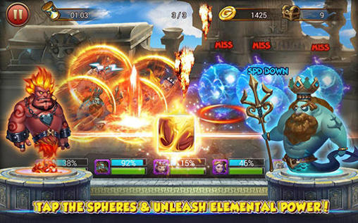 Gods rush 2 for Android
