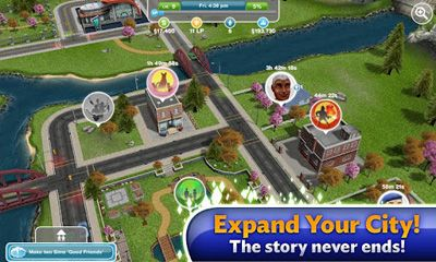 Simulation The Sims: FreePlay für das Smartphone