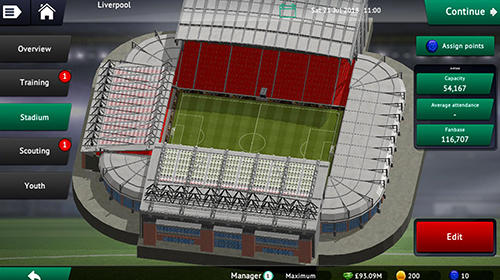 Soccer manager 2019 pour Android