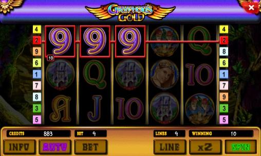 Gryphon's gold: Slot für Android