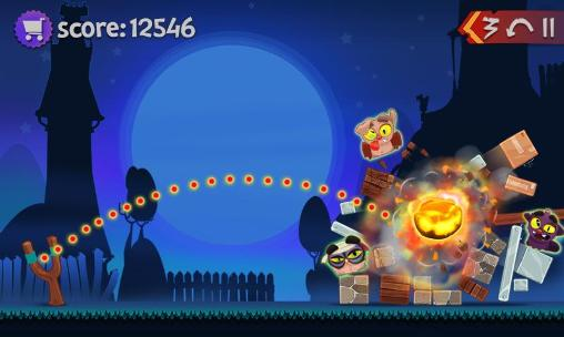 Angry pumpkins: Halloween für Android