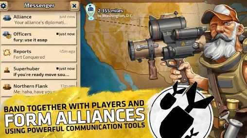 Onlinespiele Path of war für das Smartphone