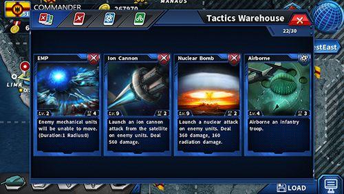 Screenshot Ruhm der Generäle 2 auf dem iPhone