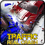 Real racer crash traffic 3D icono