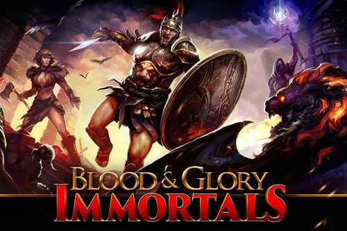 logo Blood and glory: Immortals