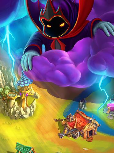 Arcade-Spiele: Lade Matchland Quest auf dein Handy herunter