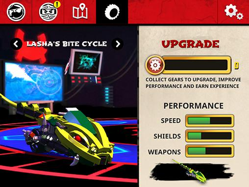 Action LEGO Ninjago: Wu-Cru for smartphone