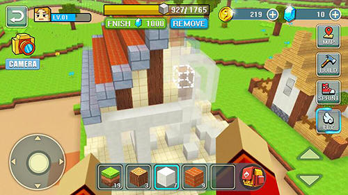 RPG World craft building für das Smartphone