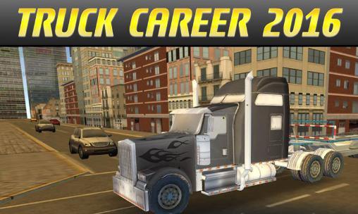 Euro truck career 2016 скриншот 1