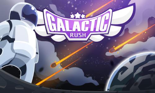 Galactic rush screenshot 1