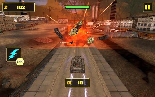 Panzerspiele Tank fighter league 3D auf Deutsch