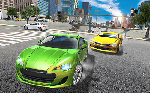 Course Car driving simulator drift pour smartphone