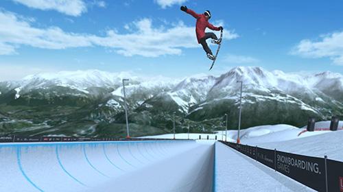 Just snowboarding: Freestyle snowboard action скріншот 1