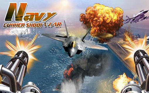 Navy gunner shoot war 3D screenshot 1